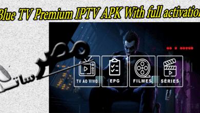 Blue TV Premium IPTV APK With full activation