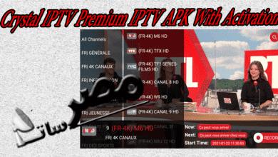 Crystal IPTV Premium IPTV APK With Activation