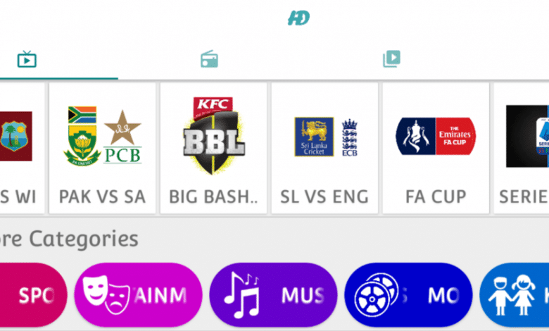 HD Streamz Latest Version IPTV APK