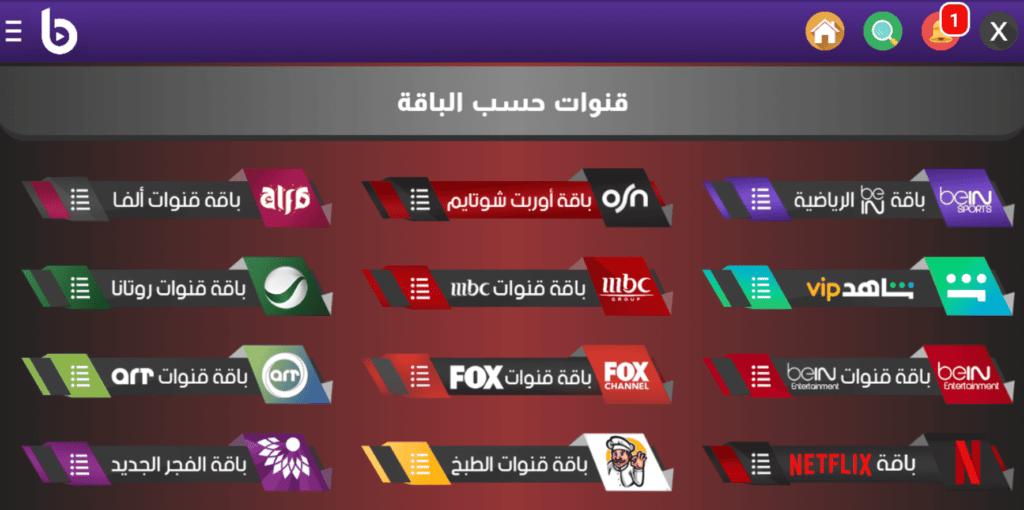 تطبيق Best Tv بأخر إصدار يحتوي على قنوات بطريقة مرتبه