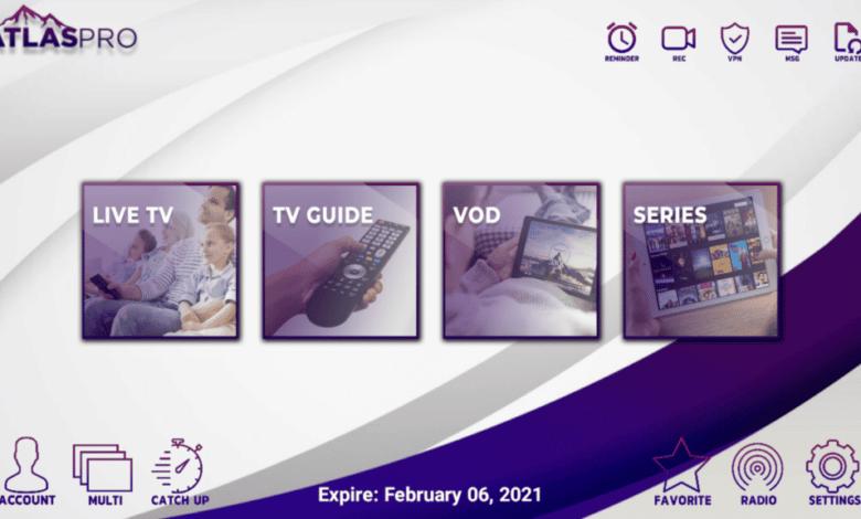 Atlas Pro Premium IPTV APK With Activation Codes