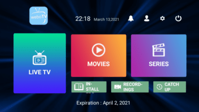 Webo TV With Premium Activation