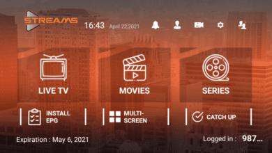 Streams Pro Premium IPTV APK With Activation Login