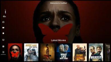 CodRed IPTV لمشاهدة القنوات الرياضية والعربية المشفرة والافلام والمسلسلات
