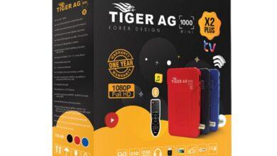ملف قنوات TIGER AG 1000 اسلامى ومسيحى عربى و انجليزى شهر 06 2021 TIGER X2 X2 PLUS X2 SUPER